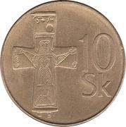 10 koruna -  revers