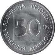 50 stotinov – avers