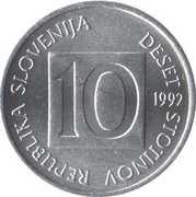 10 stotinov – avers