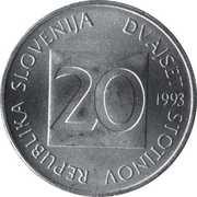 20 stotinov – avers