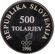 500 tolarjev -  avers