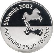 2500 tolarjev -  avers
