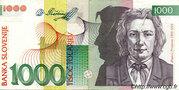 1,000 Tolarjev -  avers
