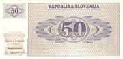 50 Tolarjev – revers