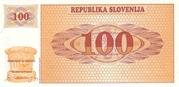 100 Tolarjev – revers