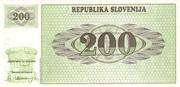 200 Tolarjev – revers