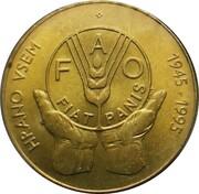 5 tolarjev (FAO) – revers