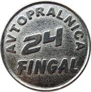 Jeton de lavage automobile - Fingal (Gornja Radgona) – revers