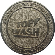 Jeton de lavage automobile - Top Wash (Dravograd) – avers