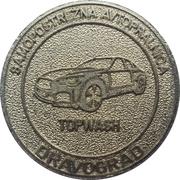 Jeton de lavage automobile - Top Wash (Dravograd) – revers
