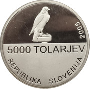 5000 tolarjev -  avers