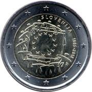 2 euros Drapeau européen -  avers