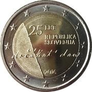 2 euros Indépendance -  avers
