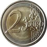 2 euros Indépendance -  revers