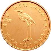 1 cent d'euro -  avers