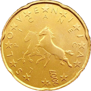 20 cents d'euro -  avers