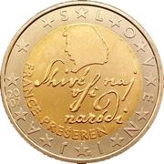 2 euros -  avers