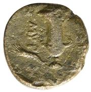 Bronze Æ13 (Smyrna) – revers