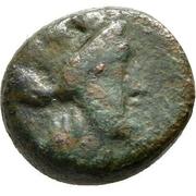 Bronze Æ11 (Smyrna) – avers