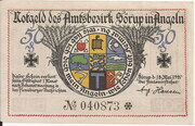 50 Pfennig (Sörup) – avers