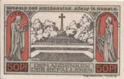 50 Pfennig (Sörup) – revers