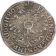 1 Thaler - Wilhelm I. zu Greiffenstein and Reinhard zu Hungen (Ausbeutetaler) – revers