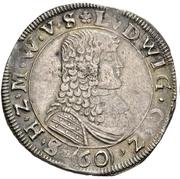 1 Gulden - Ludwig – avers