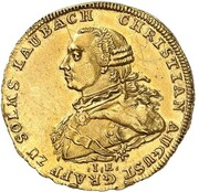 1 ducat Christian August – avers