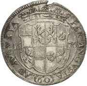 1 Gulden - Johann August – revers