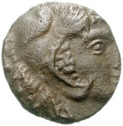 Bronze Æ12 (Soloi) – avers