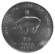 10 shillings (Cochon) – revers