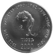 10 shillings (Tigre) – revers