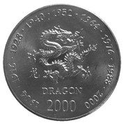 10 shillings (Dragon) – revers