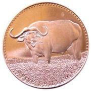 5 Shillings (Buffle d'eau) – revers
