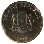 10 Shillings (Rhinocéros) – avers