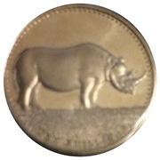 10 Shillings (Rhinocéros) – revers