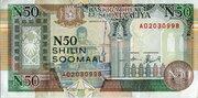 50 N-Shilin Soomaali/New Somali Shillings – avers