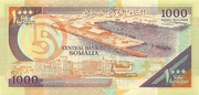 1000 Somali Shillings – revers