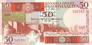 50 Shilin / 50 Shillings – avers
