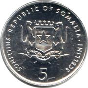 5 shillings (FAO) – avers