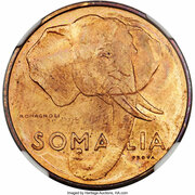 5 centesimi (Essai) – avers