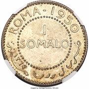 1 somalo (Essai) – revers