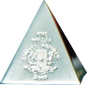 1 Dollar (Volume geometrical figures - Pyramid) – avers