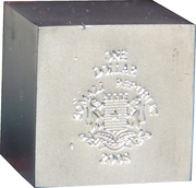 1 Dollar (Volume geometrical figures - Cube) – avers