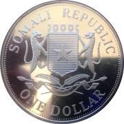 1 Dollar (Athens Olympics) – avers