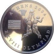 1 Dollar (Athens Olympics) – revers