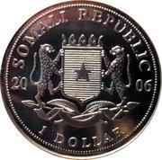 1 Dollar (Pope Benedict) – avers