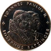 1 Dollar (Pope Benedict) – revers