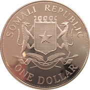 1 Dollar (Jeux Olympiques Athènes 2004) – avers