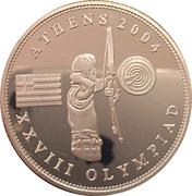 1 Dollar (Jeux Olympiques Athènes 2004) – revers